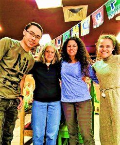 Photo of Carol Hand's family